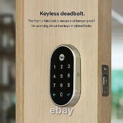 Google Nest X Yale Lock Tamper-proof Smart Lock For Keyless Entry Keypad