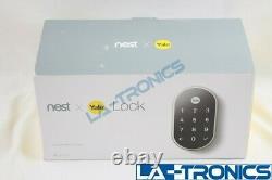 Google Nest X Yale Tamper-proof Smart Lock Pour L'entrée Sans Clé Avec Nest Connect