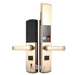 Gratuit Dhlhigh D'empreintes Digitales De Verrouillage Pour La Maison Antivol De Verrouillage De Porte Sans Clé Smart Lock