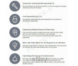 Guardian Tr710 Serrure De Porte Numérique Smart Keyless Lock Security Entry Password + Rfid