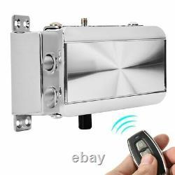 Home Door Lock Kit 4 X Télécommande Keyless Entry Electronic Lock Smart Wire