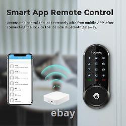 Hugolog Electronic Deadbolt Keyless Entry Door Lock, Wireless Bluetooth Smart