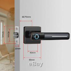 Inoxydable Numérique Intelligent Électronique De Verrouillage De Porte D'empreintes Digitales Tactile Passe Sans Clé