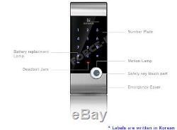 Irevo Gateman Sans Clé Numérique V10 De Verrouillage De Porte Électronique Smart Security Entry 2way