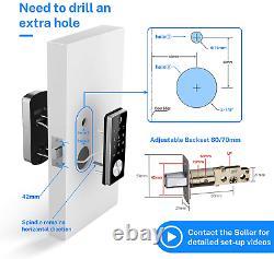 Keyless Entry Door Lock Smart Touchscreen Keypad Electronic Deadbolt Empreinte Digitale