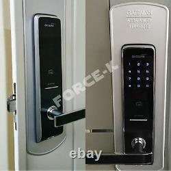 Keyless Lock Gateman E200-fh Digital Smart Doorlock Type De Crochet Mot De Passe+rfid 2way