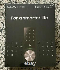 Keywe Smart Home Security Serrure De Porte D'entrée Sans Clé Avec Clavier, Bluetooth, Alexa