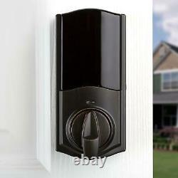 Kit De Conversion De Kwikset Revo Smart Lock Alexa Bluetooth Keyless Deadbolt Bronze