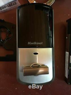 Kwikset 99380-001 Halo Wi-fi Smart Lock Entrée Sans Clé, Nickel Satiné