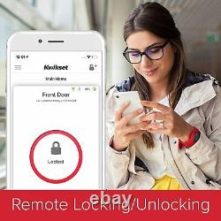 Kwikset 99380-002 Halo Wi-fi Smart Lock Entrée Sans Clé Clavier Électronique Deadbolt