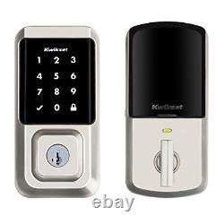 Kwikset 99390-001 Halo Wi-fi Smart Lock Keyless Entry Écran Tactile Électronique