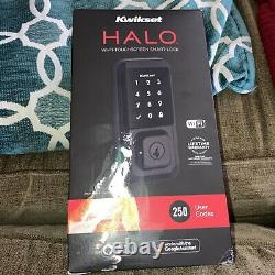 Kwikset 99390-004 Halo Wi-fi Smart Lock Keyless Entrée Écran Tactile Électronique