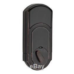Kwikset Bronze Vénitien Kevo Serrure À Pêne Dormant Smart Keyless Bluetooth Digital