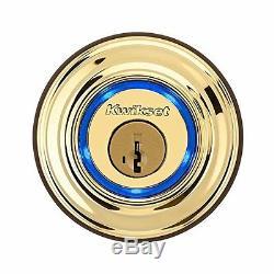 Kwikset En Laiton Kevo Smart Serrure À Pêne Dormant Serrure De Porte Sans Clé Bluetooth Numérique Touch Ios