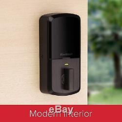 Kwikset Halo 99380-002 Wi-fi Smart Lock Sans Clé Clavier À Pêne Dormant Bronze Nouveau