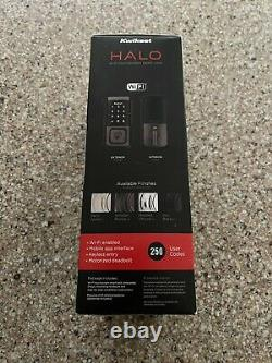 Kwikset Halo Wi-fi Smart Lock Entrée Sans Clé Ecran Tactile Électronique Brand Nouveau