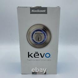 Kwikset Kevo 99250-202 2nd Gen Bluetooth Touch-to-ouvrir Smart Keyless Smart Lock