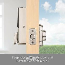 Kwikset Kevo Convertir Sans Clé Smart Lock Kit De Conversion En Nickel Satiné 99140-111