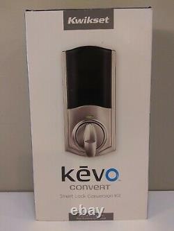 Kwikset Kevo Convertir Smart Lock Kit De Conversion. Fonctionne Avec Le Verrou Existant