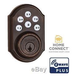 Kwikset Smartcode 910 Z-wave Intelligent De Verrouillage De Porte Électronique À Pêne Dormant Sans Clé