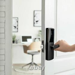 Laser Smart Door Lock Keyless Bluetooth Touchscreen Fire Valued Digital Wireless