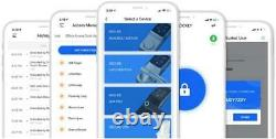 Lockly Bluetooth Keyless Entry Smart Door Lock Patented Keypad/alarm System