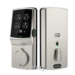 Lockly Bluetooth Sans Clé Smart Entry De Verrouillage De Porte Clavier À Pêne Dormant Avec Empreintes Digitales