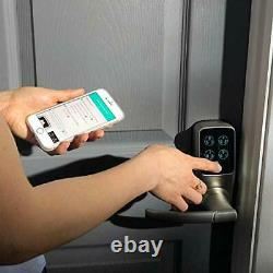 Lockly Keyless Entry Smart Lock Door Lock Pgd 728 Avec Advanced Security Orie