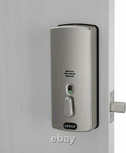 Lockly Secure Pro Bluetooth Fingerprint Wifi Keyless Entry Smart Door Lock Nouveau