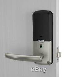 Lockly Smart Lock Loquet D'empreintes Digitales Wifi Sécurisé Pro Nickel Keyless Entry