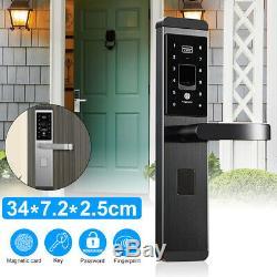 Mot De Passe De Serrure De Porte Intelligent 100 Groupes Universel 100 Touches Touch 5 Way Keyless