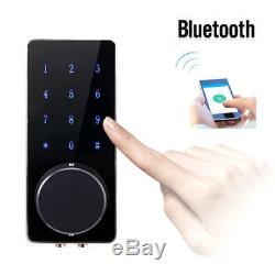 Mot De Passe Keyless Touch De Serrure De Sécurité À La Maison De Serrure Numérique Intelligente De Bluetooth
