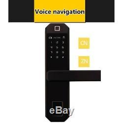Mot De Passe Tactile D'empreinte Digitale De Serrure Électronique Numérique Intelligent Keyless