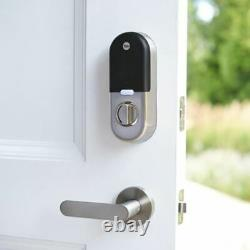 Nest Yale Lock Smart Lock Deadbolt System Pour Keyless Entry Satin Nickel