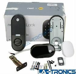Nest Yale Lock Smart Lock Deadbolt System Pour Le Bronze Sans Clé D'entrée À L'huile-rubbed
