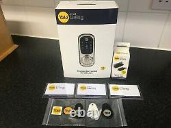 New Yale Sans Clé Connecté À Écran Tactile Smart Wireless Door Lock + Télécommande Et Modul +