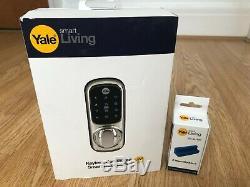 New Yale Sans Clé Connecté À Écran Tactile Smart Wireless Door Lock + Z-wave Mod-2 +