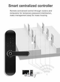 Nouveau 202pro Wifi Et Bluetooth Intelligent De Verrouillage De Porte, D'empreintes Digitales Sans Clé De Porte D'entrée
