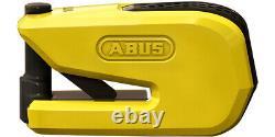 Nouveau Abus Smart X Detecto 8078 Disc Alarm Lock Smart Technology Cleyless Yellow