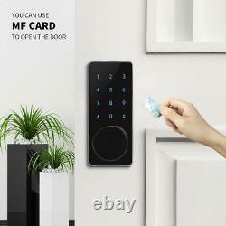 Nouveau Code Anti-météo Mifare Rfid Wi-fi Keyless Access Deadbolt Smart Door Lock