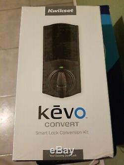Nouveau Etanche Kwikset Kevo Convert Intelligente De Verrouillage De Porte Kit De Conversion Sans Clé Bluetooth