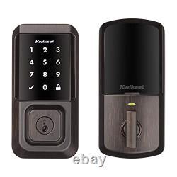 Nouveau Kwikset 99390-002 Halo Wi-fi Smart Lock Keyless Entrée Écran Tactile Électronique