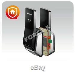Nouveau Samsung Ezon Push-pull Shs-p520 Sans Clé Smart Lock Numérique + Rfid Pin Serrure
