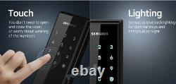 Nouveau Samsung Keyless Lock Shs-h530 Smart Digital Mortise Doorlock Passcode+rfid