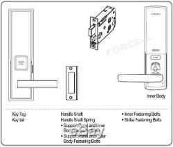 Nouveau Samsung Sans Clé De Verrouillage Shs-h530 Numérique Intelligent Mortaise + Rfid Passcode Serrure