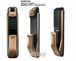Nouveau Samsung Shp-dp930 Push Pull Type Digtial Sans Clé De Verrouillage De Porte + Tagkeys