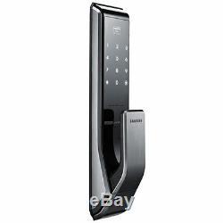 Nouveau Samsung Shs-p710 Key Less Serrure De Porte Intelligente Numérique Avec 2ea Clés