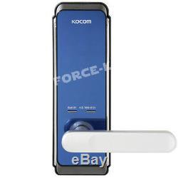 Nouveau Sans Clé De Verrouillage Kocom Kdl-710n Numérique Intelligent Passcode Argent Serrure / Bleu 1way