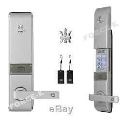 Nouveau-volt Numérique Intelligent Sans Clé De Verrouillage De Porte Smart Entry Passcode + 2 Carte Rfid