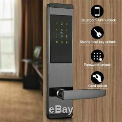 Numérique Intelligent À Écran Tactile Sans Clé D'empreintes Digitales Clavier Électronique Intelligent De Verrouillage De Porte
